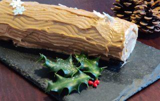 Bûche de Noël klassisk fransk julekage